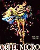 Poster van de film Orfeu Negro